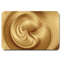 Gold Background Texture Pattern Large Doormat