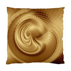 Gold Background Texture Pattern Standard Cushion Case (One Side)