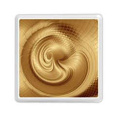 Gold Background Texture Pattern Memory Card Reader (square)