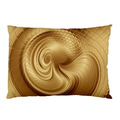 Gold Background Texture Pattern Pillow Case (Two Sides)