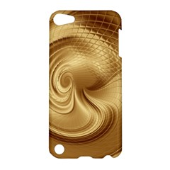 Gold Background Texture Pattern Apple iPod Touch 5 Hardshell Case