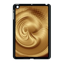 Gold Background Texture Pattern Apple iPad Mini Case (Black)