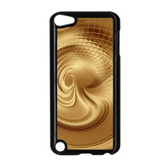 Gold Background Texture Pattern Apple iPod Touch 5 Case (Black)