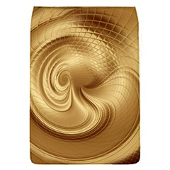Gold Background Texture Pattern Flap Covers (s)