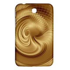 Gold Background Texture Pattern Samsung Galaxy Tab 3 (7 ) P3200 Hardshell Case
