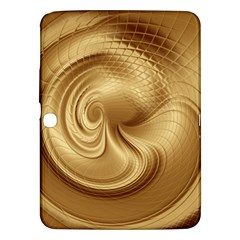 Gold Background Texture Pattern Samsung Galaxy Tab 3 (10 1 ) P5200 Hardshell Case