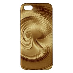 Gold Background Texture Pattern iPhone 5S/ SE Premium Hardshell Case