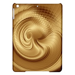 Gold Background Texture Pattern iPad Air Hardshell Cases