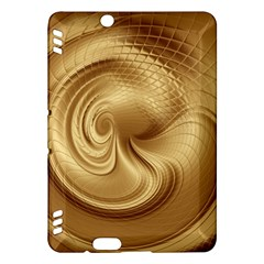 Gold Background Texture Pattern Kindle Fire Hdx Hardshell Case