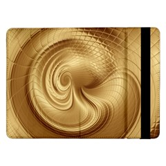 Gold Background Texture Pattern Samsung Galaxy Tab Pro 12.2  Flip Case