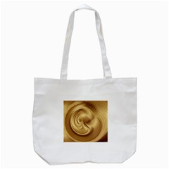 Gold Background Texture Pattern Tote Bag (White)