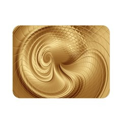 Gold Background Texture Pattern Double Sided Flano Blanket (Mini)