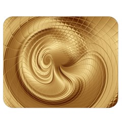 Gold Background Texture Pattern Double Sided Flano Blanket (Medium)