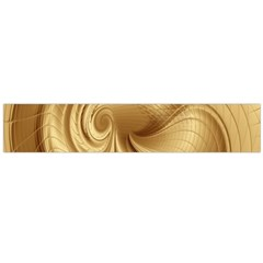 Gold Background Texture Pattern Flano Scarf (Large)