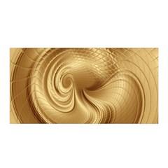 Gold Background Texture Pattern Satin Wrap