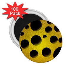 Background Design Random Balls 2 25  Magnets (100 Pack)