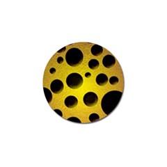 Background Design Random Balls Golf Ball Marker (10 pack)
