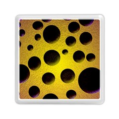 Background Design Random Balls Memory Card Reader (square)
