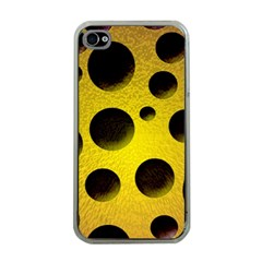 Background Design Random Balls Apple iPhone 4 Case (Clear)