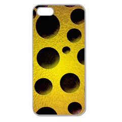 Background Design Random Balls Apple Seamless iPhone 5 Case (Clear)