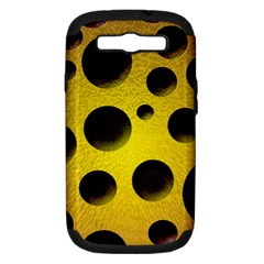 Background Design Random Balls Samsung Galaxy S III Hardshell Case (PC+Silicone)