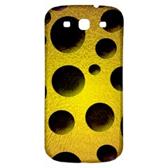 Background Design Random Balls Samsung Galaxy S3 S III Classic Hardshell Back Case