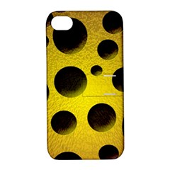 Background Design Random Balls Apple Iphone 4/4s Hardshell Case With Stand