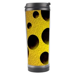 Background Design Random Balls Travel Tumbler