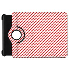 Pattern Red White Background Kindle Fire Hd 7