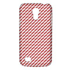 Pattern Red White Background Galaxy S4 Mini
