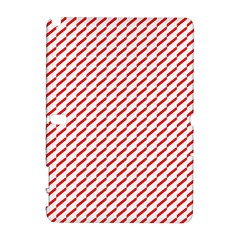 Pattern Red White Background Galaxy Note 1