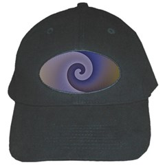 Logo Wave Design Abstract Black Cap
