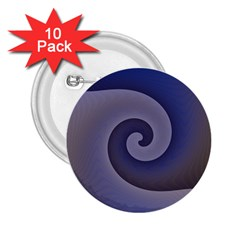 Logo Wave Design Abstract 2.25  Buttons (10 pack)