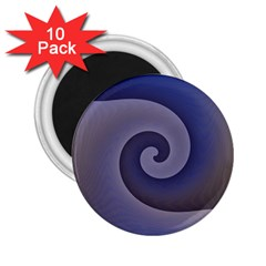 Logo Wave Design Abstract 2.25  Magnets (10 pack)