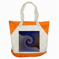 Logo Wave Design Abstract Accent Tote Bag