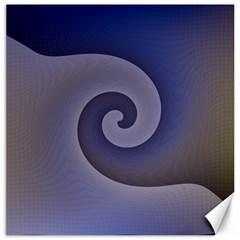 Logo Wave Design Abstract Canvas 16  x 16