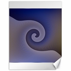 Logo Wave Design Abstract Canvas 18  X 24