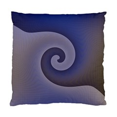 Logo Wave Design Abstract Standard Cushion Case (two Sides)