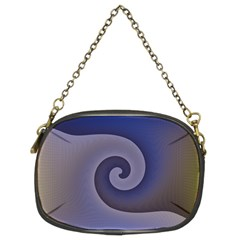 Logo Wave Design Abstract Chain Purses (two Sides)