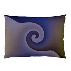 Logo Wave Design Abstract Pillow Case