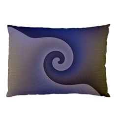 Logo Wave Design Abstract Pillow Case (two Sides)