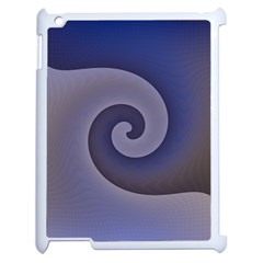 Logo Wave Design Abstract Apple iPad 2 Case (White)