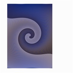 Logo Wave Design Abstract Large Garden Flag (Two Sides)