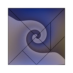 Logo Wave Design Abstract Acrylic Tangram Puzzle (6  x 6 )