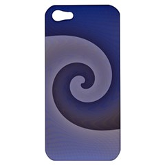 Logo Wave Design Abstract Apple iPhone 5 Hardshell Case