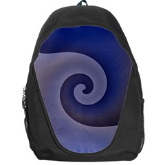 Logo Wave Design Abstract Backpack Bag