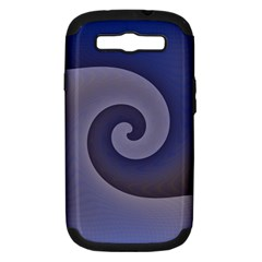 Logo Wave Design Abstract Samsung Galaxy S III Hardshell Case (PC+Silicone)