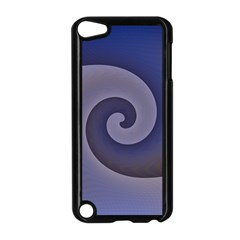Logo Wave Design Abstract Apple iPod Touch 5 Case (Black)