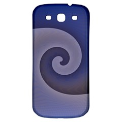 Logo Wave Design Abstract Samsung Galaxy S3 S III Classic Hardshell Back Case