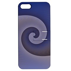 Logo Wave Design Abstract Apple iPhone 5 Hardshell Case with Stand